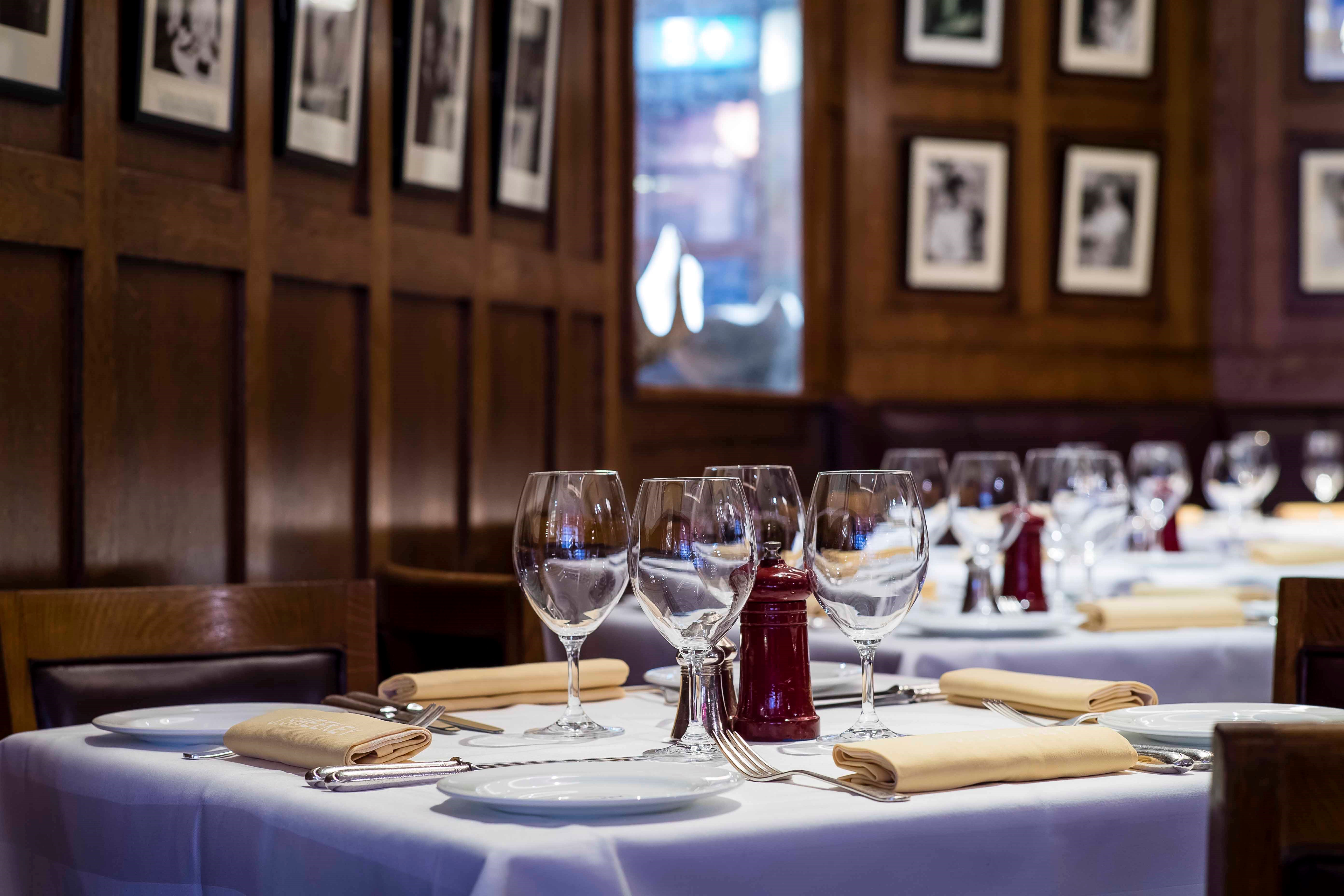 Romantic Restaurant in Leicester Square, J Sheekey, Iconic London Restaurant