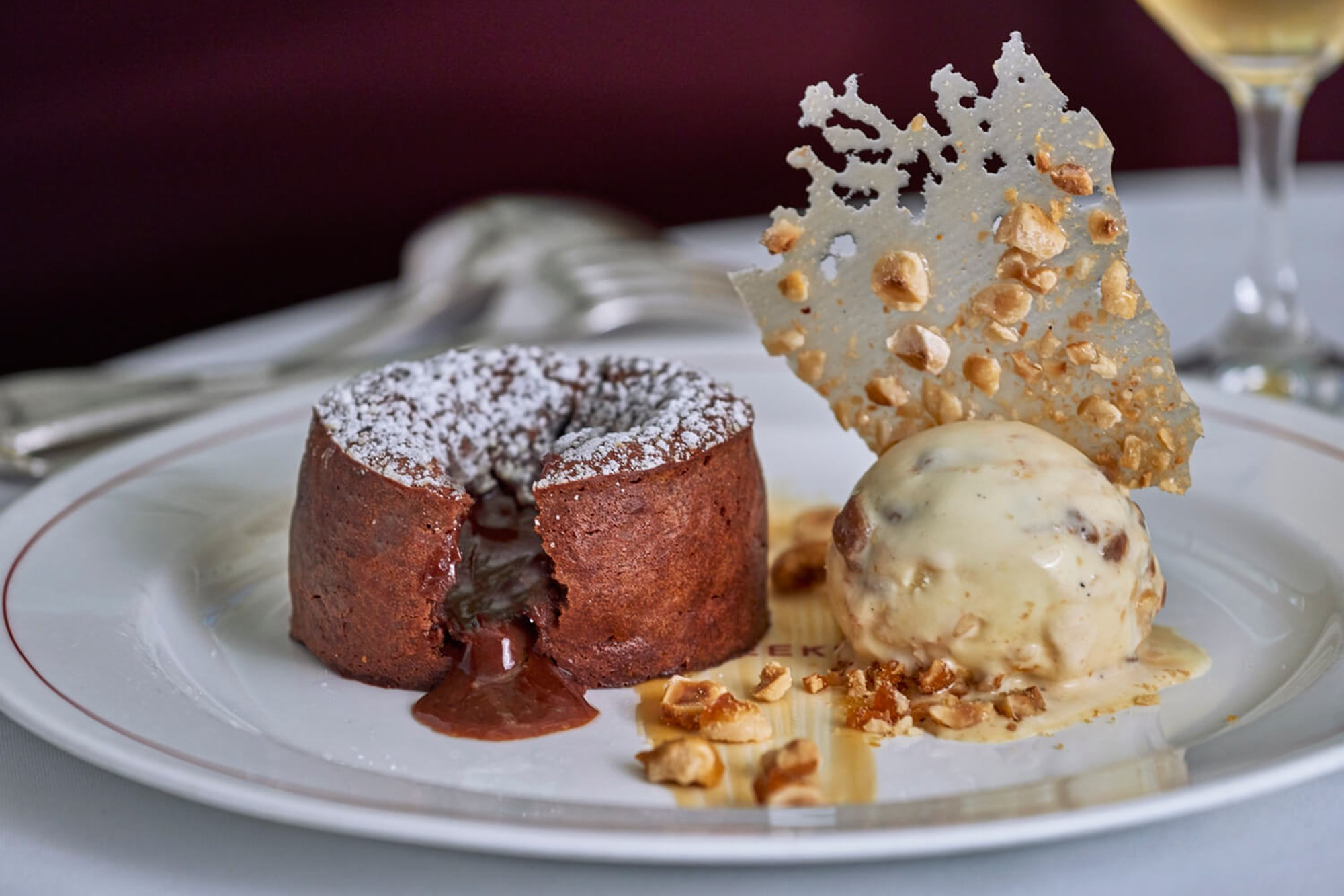 Dessert at J Sheekey, a Romantic Seafood and Fish Restaurant in London's West End
