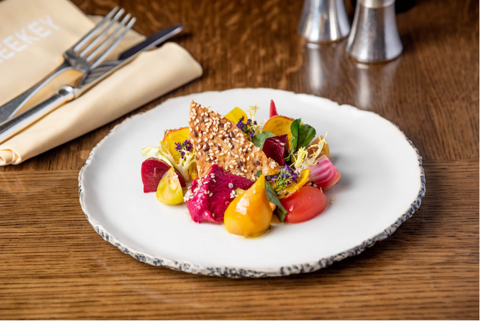 Vegetarian and Vegan dishes available at J Sheekey, an iconic restaurant in London