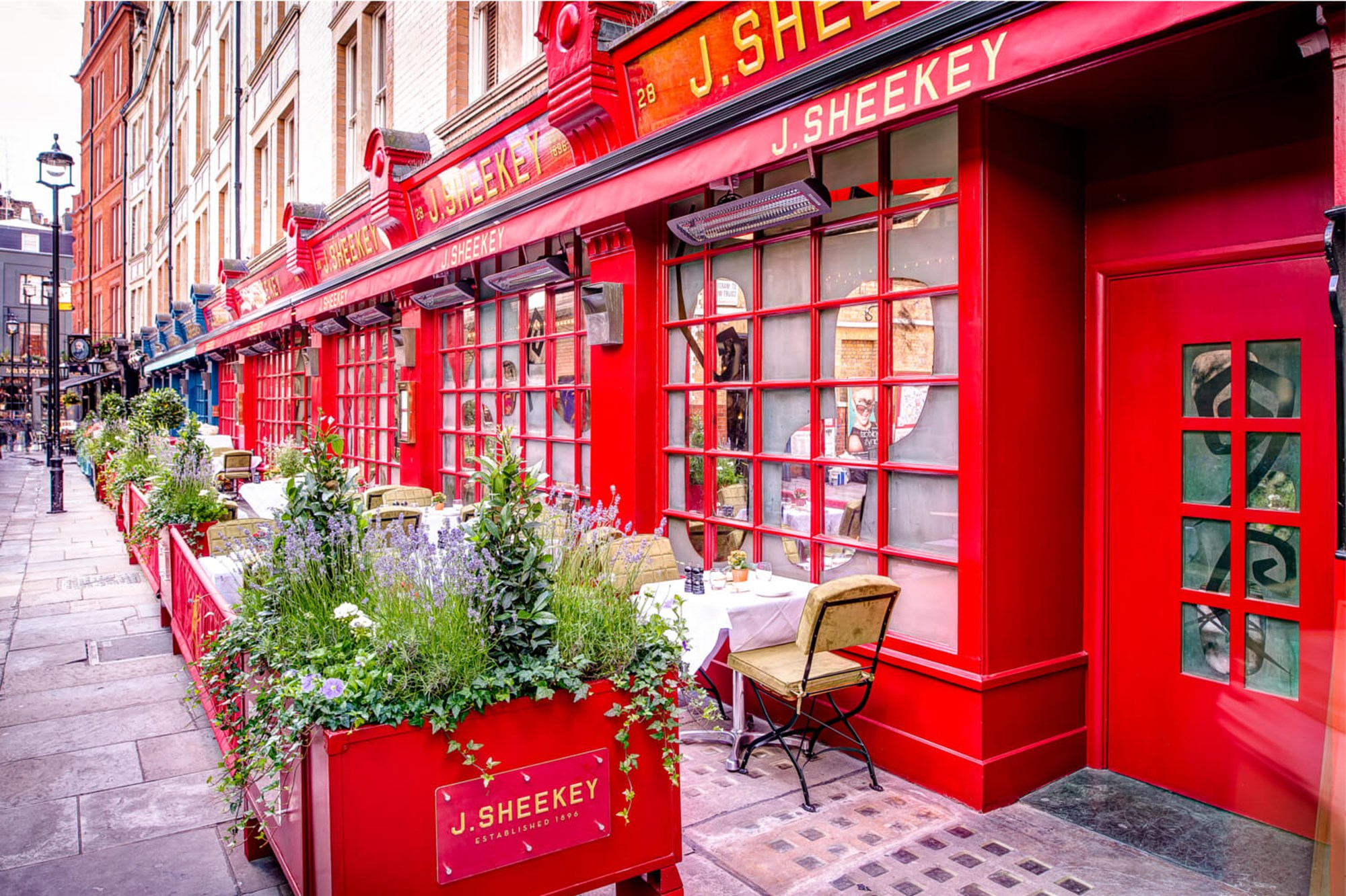 J Sheekey is an iconic London restaurant located in Leicester Square which serves the finest fish
