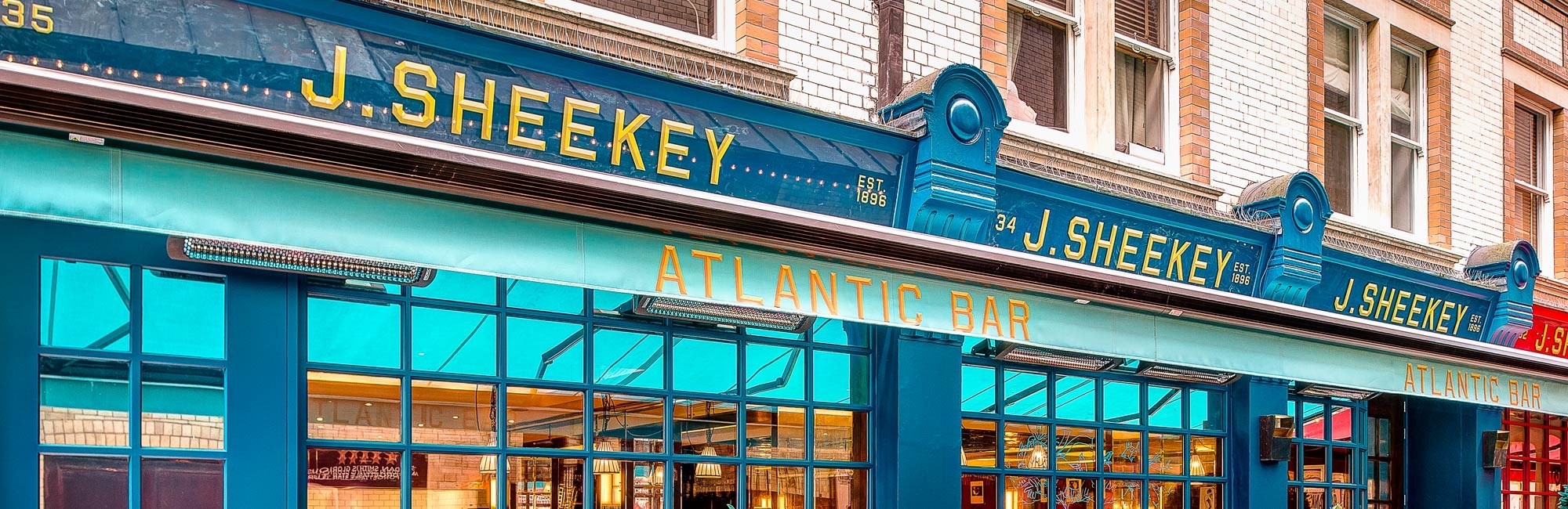 J Sheekey Atlantic Bar, Seafood Restaurant near Covent Garden