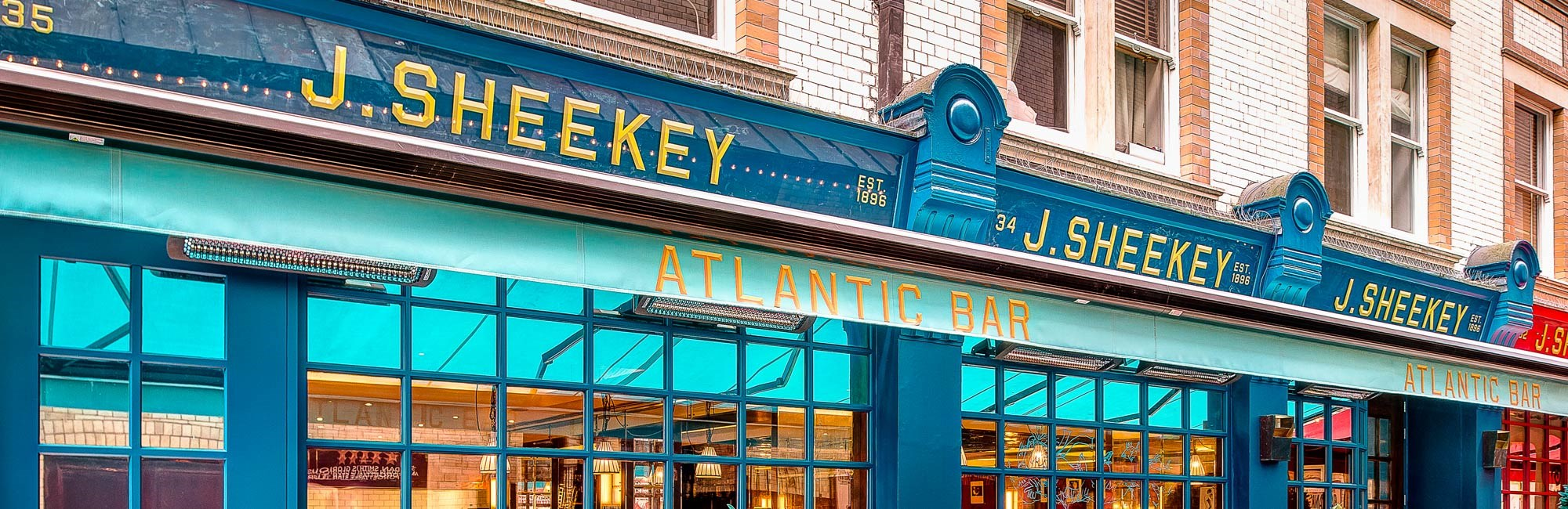 J Sheekey Atlantic Bar, Fish and Seafood Restaurant in Covent Garden