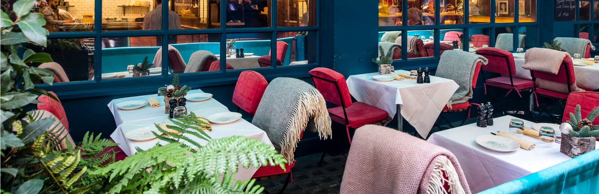 J Sheekey Atlantic Bar Winter Terrace | Seafood Restaurant Covent Garden